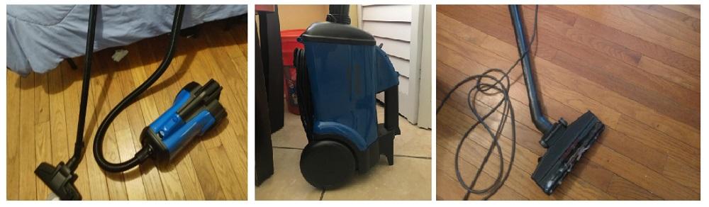 Eureka Mighty Mite Bagged Vacuum 3670h-blue