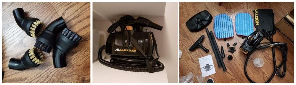 McCulloch MC1270 Steam Cleaner