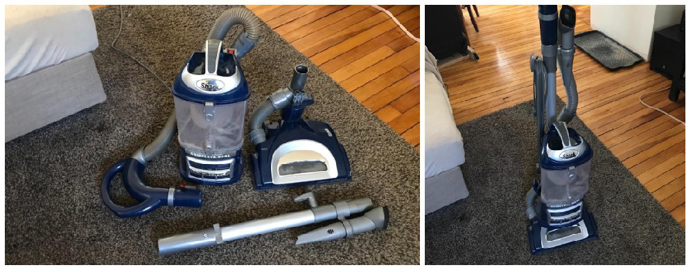 Shark Navigator Lift-Away Deluxe NV360 Upright Vacuum Review