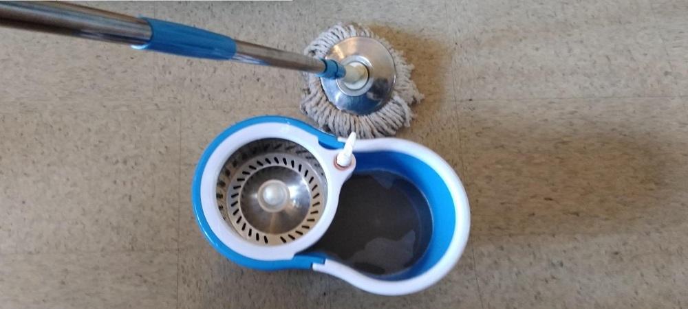 Aootek 360 Spin Mop & Bucket
