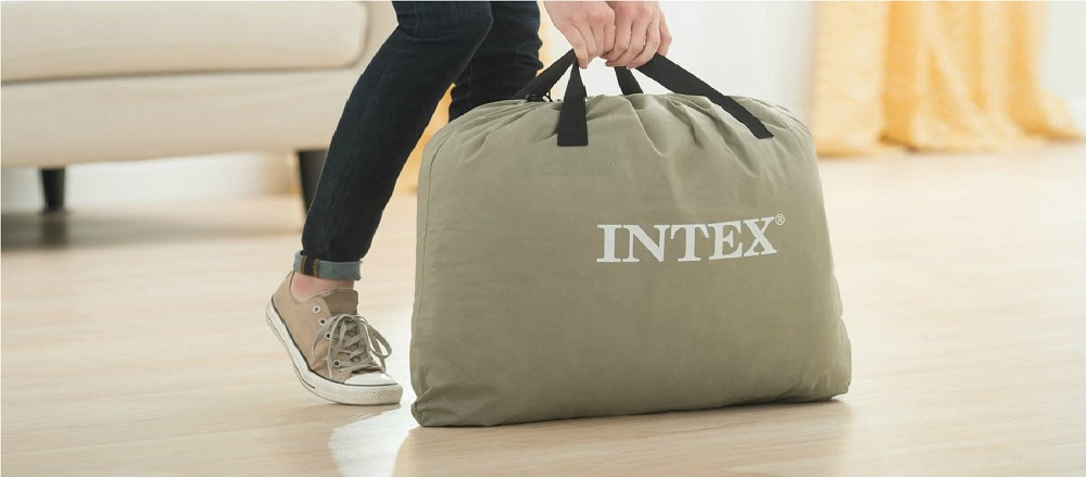Intex Comfort Plush Mid Rise Dura-Beam Airbed Review
