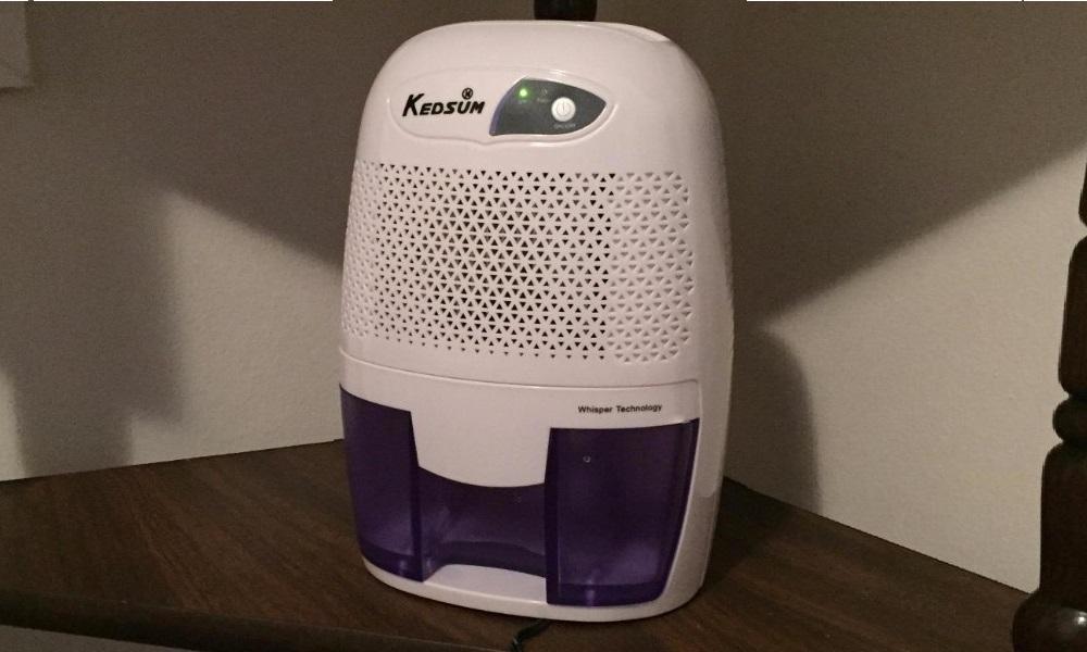 KEDSUM Electric Mini Dehumidifier, Small Dehumidifier Review