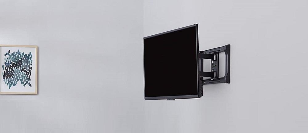 AmazonBasics Heavy-Duty Full Motion Articulating TV Wall Mount