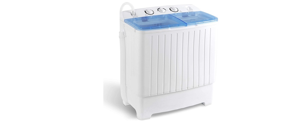 SUPER DEAL 2IN1 Mini Compact Twin Tub Washing Machine Review