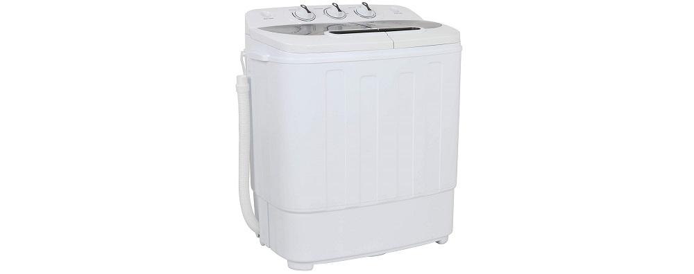 ZENY ZENYJA019042T Portable Mini Twin Tub Washing Machine