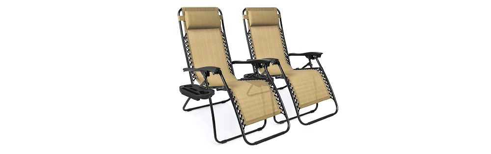 Best Choice Products Zero Gravity Lounge Chair Recliners Review