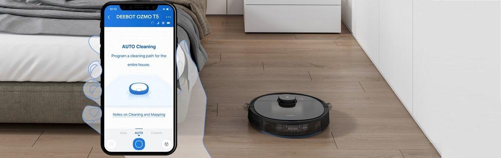 Ecovacs DEEBOT OZMO T5 Robot Vacuum