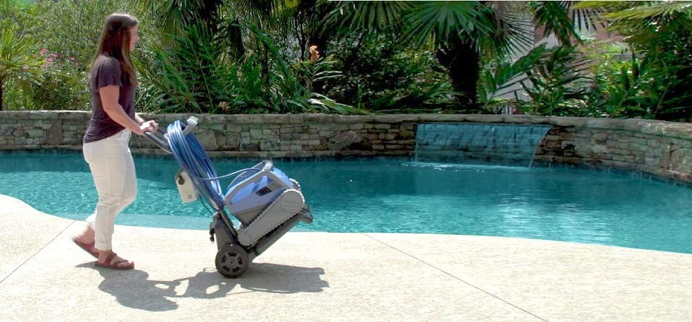 Dolphin Robotic Pool Cleaner Caddy Review