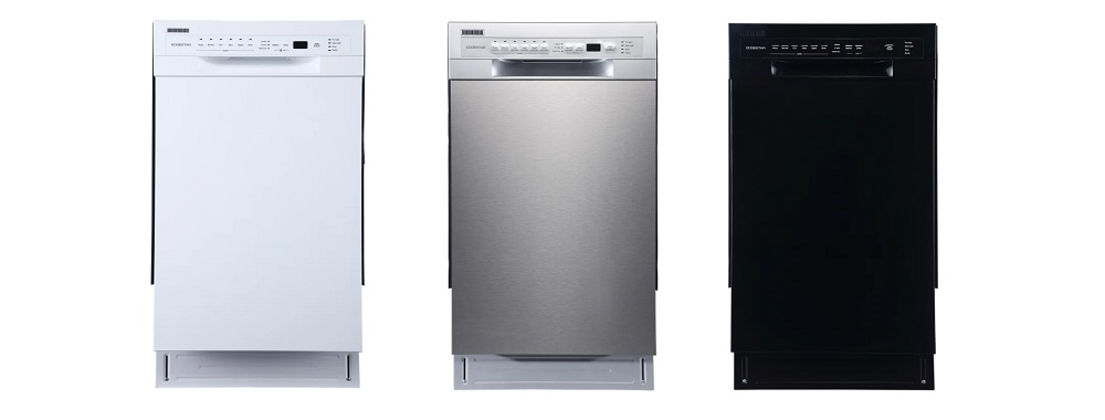 EdgeStar BIDW1802SS 18 Inch Wide Built-In Dishwasher
