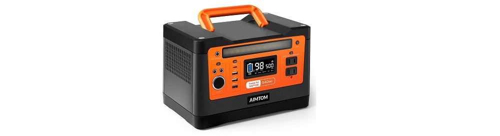 AIMTOM Portable Power Station Solar-Ready Generator Review