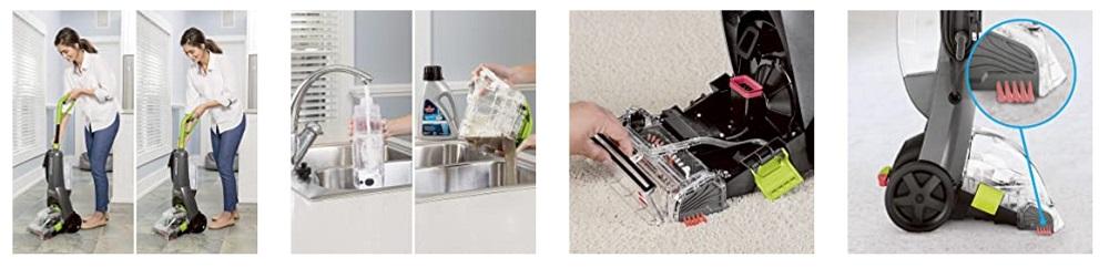 Bissell 2085C Powerclean Turbobrush Carpet Cleaner Review