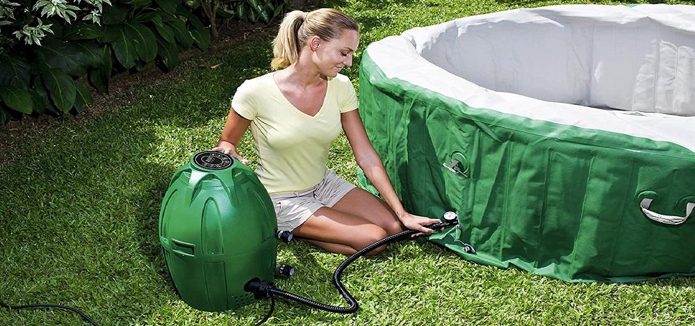 Coleman SaluSpa 54131E Inflatable Hot Tub Review