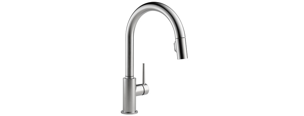 Delta Faucet Trinsic Single-Handle Kitchen Sink Faucet Review