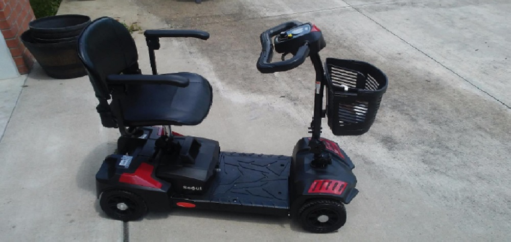 Drive Medical Spitfire Travel Scooter Review