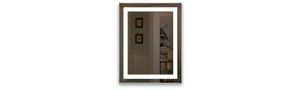 HAUSCHEN 32 x 24 inch LED Lighted Bathroom Wall Mounted Mirror Review