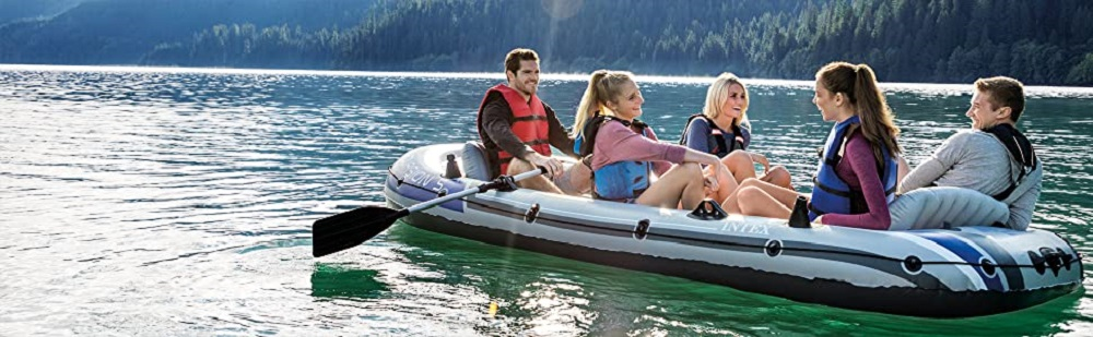 Intex Excursion 5 Inflatable Boat Review