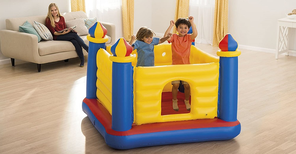 Intex Inflatable Bouncer Review