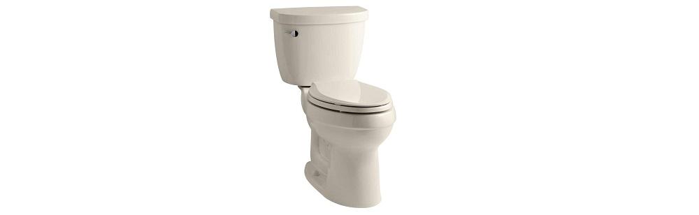 KOHLER K-3589-47 Elongated 1.6 gpf Toilet  Review