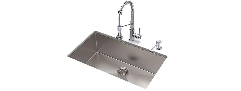 KRAUS KHU100-32-1610-53CH Steel Sink Review