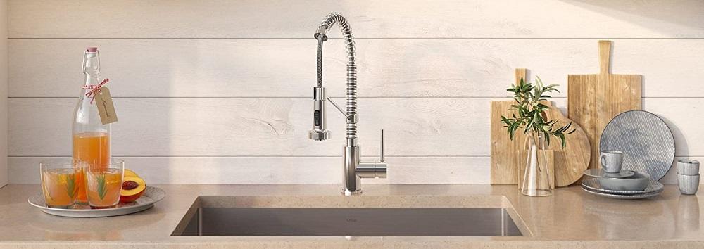 KRAUS KHU100-32-1610-53CH Set Steel Sink