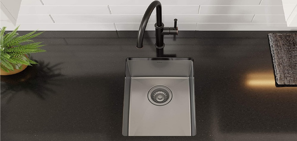 Kraus KHU101-14 Steel Sink
