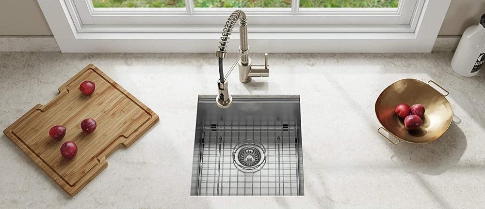 Kraus KWU111-17 Kore Workstation Single Bowl Bar Kitchen Sink Review