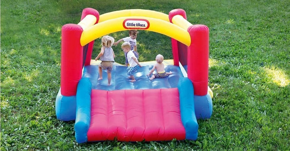 Little Tikes Inflatable Jump 'n Slide Bounce Review