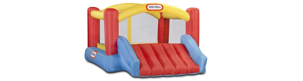 Little Tikes Inflatable Jump 'n Slide Bounce House w/ Heavy Duty Blower Review