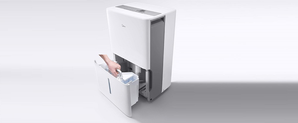 MIDEA MAD50C1ZWS Dehumidifier with Reusable Air Filter