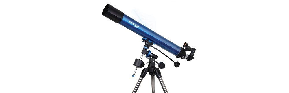 Meade Polaris 80mm Aperture Portable Backyard Refracting Astronomy Telescope