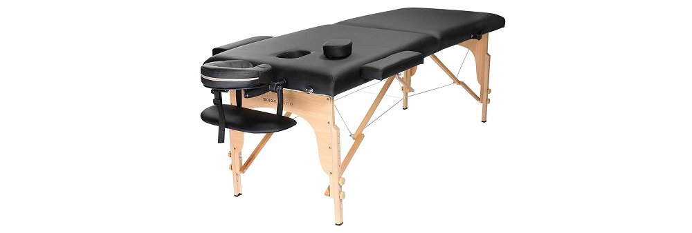 Saloniture Professional Portable Folding Massage Table Review