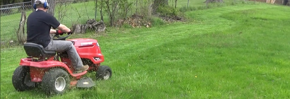 Troy-Bilt Pony 42X Riding Lawn Mower with 42-Inch Deck and 547cc Engine Tractor Review