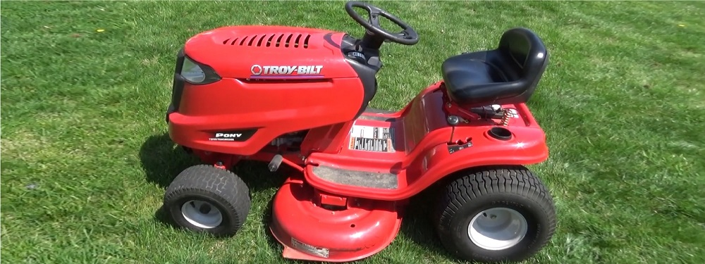 Troy-Bilt Pony 42X Riding Lawn Mower Review