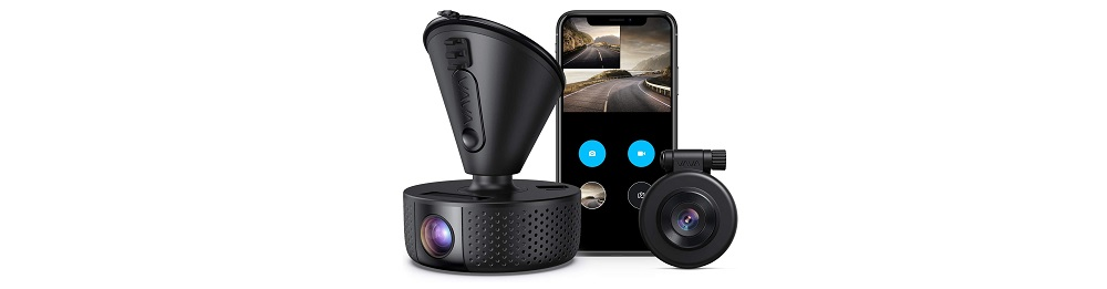 VAVA VA-CD002 1920x1080P FHD Dual Dash cam Review