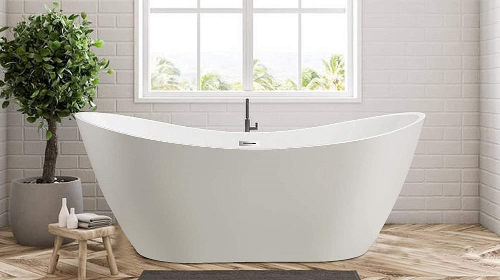 Vanity Art VA6517 Freestanding Acrylic Bathtub Review