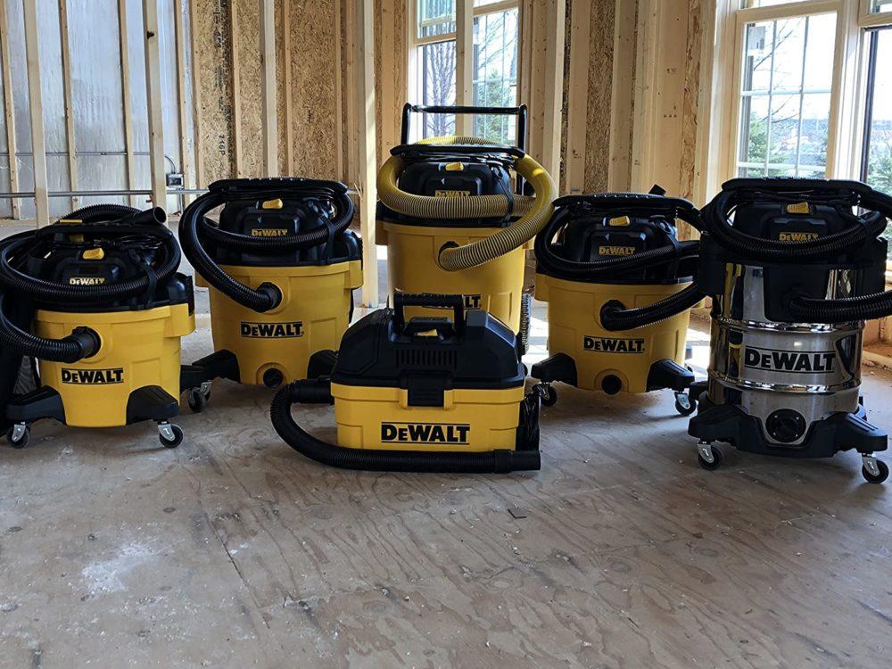 Dewalt Wet Dry vacuums