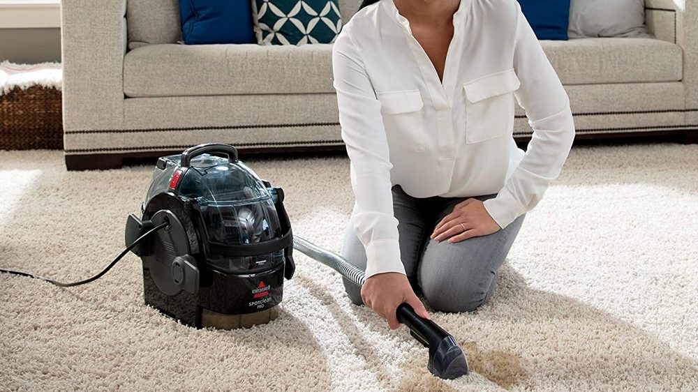 Bissell 3624 Spot Clean Professional Portable Carpet Cleaner Review