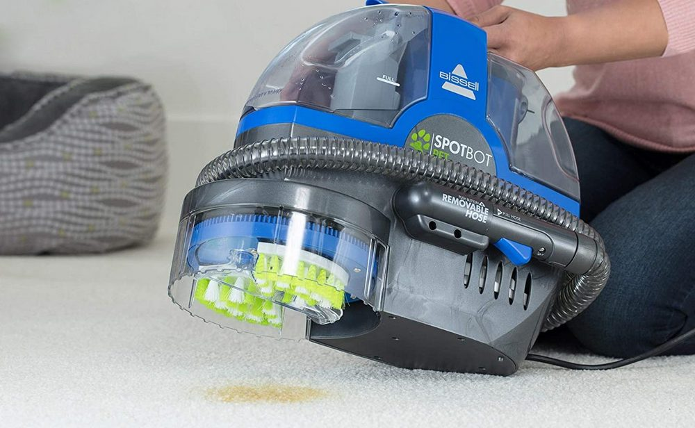 Bissell SpotBot Pet Portable Deep Cleaner 2117A Review