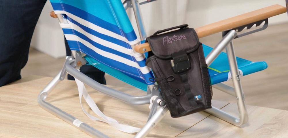 FlexSafe - The Patented Portable Travel Safe