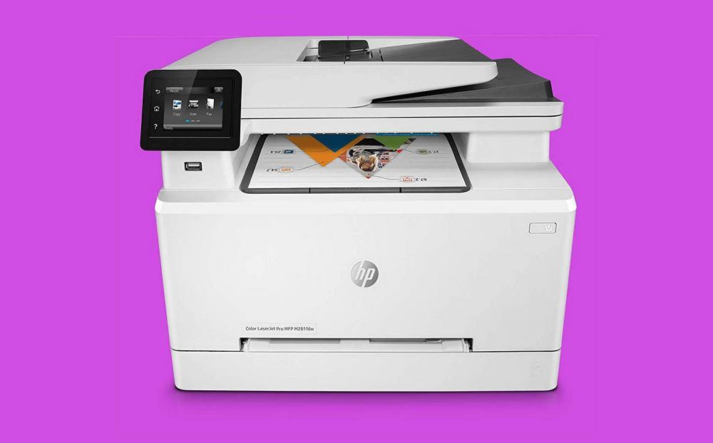HP LaserJet Pro M281fdw Wireless Color Laser Printer Review