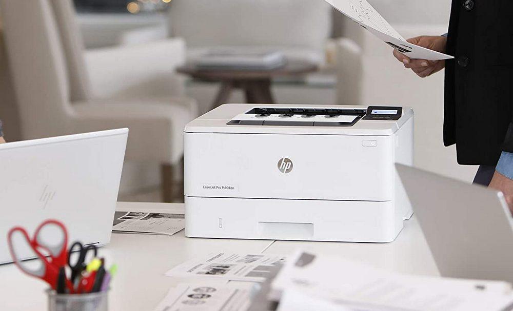 HP LaserJet Pro M404dn Monochrome Laser Printer Review