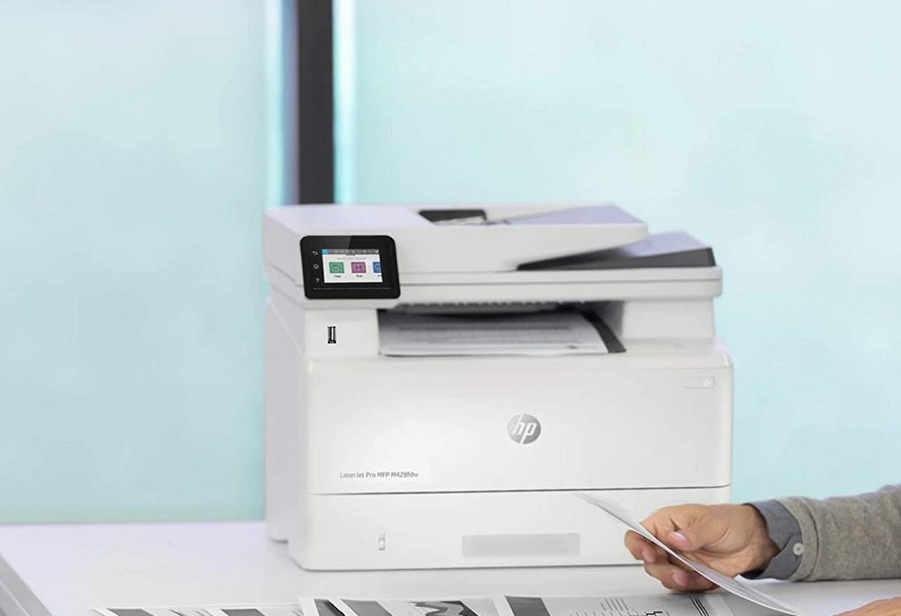 HP LaserJet Pro M428fdw Wireless Laser Printer Review