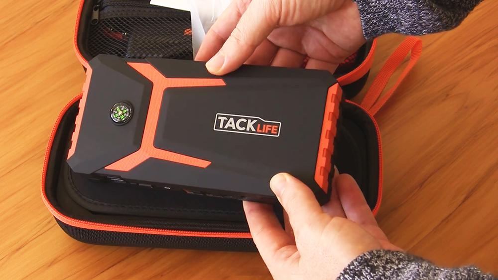 TACKLIFE T8 Car Jump Starter Review