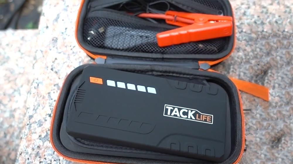 TACKLIFE T6 800A Peak 18000mAh Car Jump Starter Review