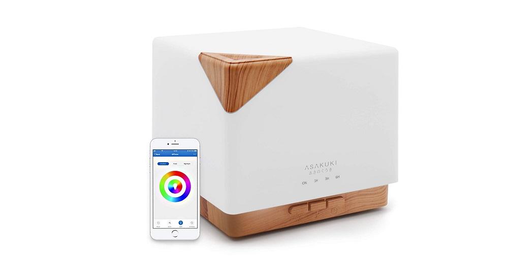 ASAKUKI Smart Wi-Fi Essential Oil Diffuser Review