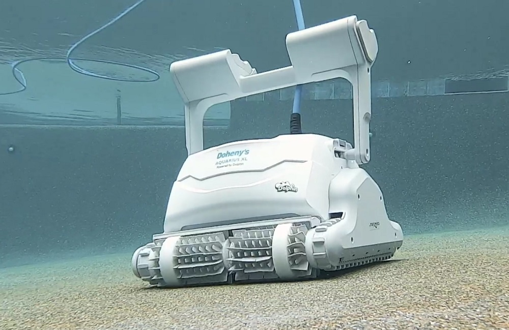 Dolphin Aquarius XL Automatic Robotic Pool Cleaner Review