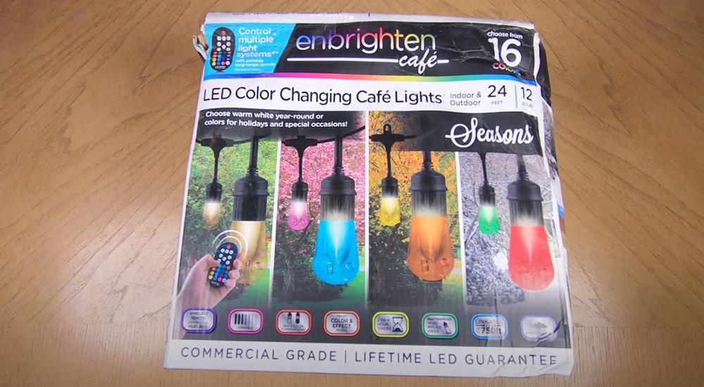 Enbrighten 45067 Color Changing Café