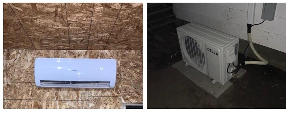 Della 18000 BTU Mini Split Air Conditioner