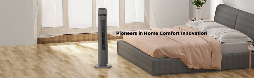 PELONIS PFT40A4AGB 40 Inch Oscillating Tower Fan
