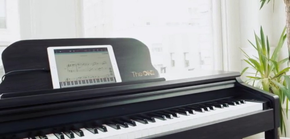 The ONE Smart Piano Weighted 88-Key Digital Piano
